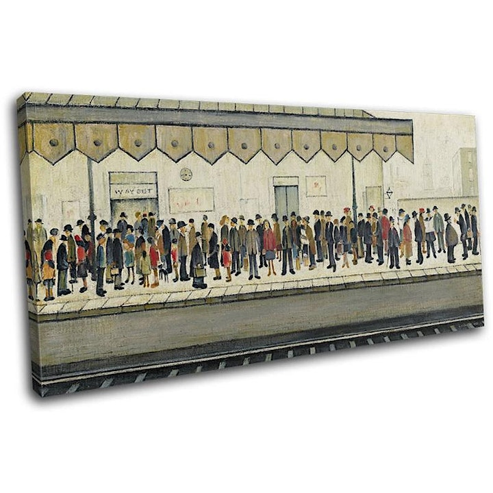 The Art and Life of of L S Lowry: Zoom talk with Ed Glinert image