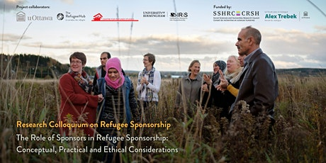 Workshop: The Role of Sponsors in Refugee Sponsorship tickets