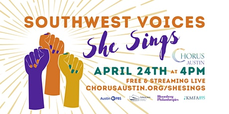 "Chorus Austin Presents ""Southwest Voices: She Sings"" tickets"