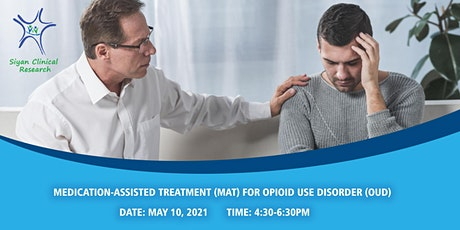 FREE CME/CE - Medication-Assisted Treatment for Opioid Use Disorder tickets
