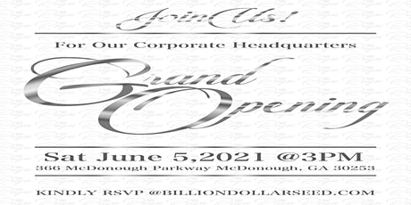REIGN Corporate Headquarters Grand Opening tickets