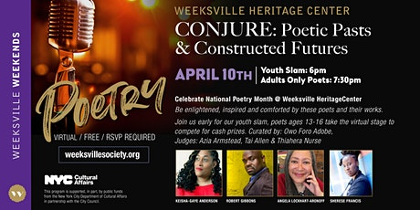 CONJURE: Poetic Pasts & Constructed Futures  by Weeksville Heritage Center tickets