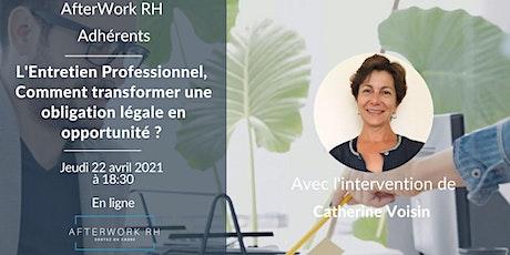 AfterWork RH Adhérents - L'Entretien Professionnel billets