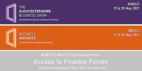 #GBS21 | #BI21.3 Access to Finance Forum tickets