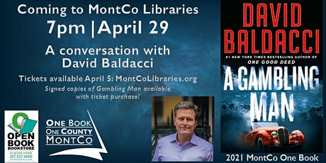 A conversation with David Baldacci tickets