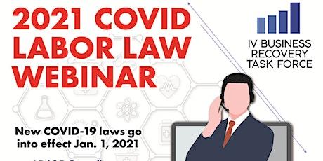 IVBRTF 2021 COVID-19 Labor Law Updates Webinar tickets