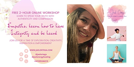 EMPATHS, LEARN HOW TO HAVE INTEGRITY AND BE HEARD INTRODUCTION WORKSHOP tickets