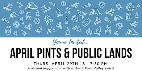 April Pints & Public Lands Virtual Happy Hour tickets