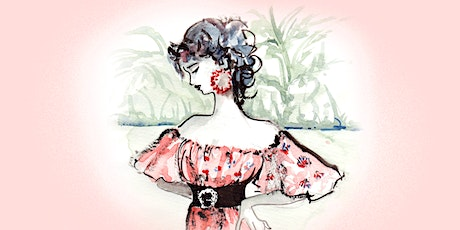 Illustrating fashion: a floral summer dress in watercolours! tickets