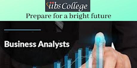 ECBA - Business Analyst Training- Making tomorrow better tickets