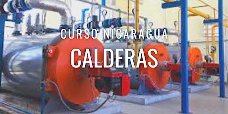 "Curso Gratuito Nicaragua ""Calderas"" entradas"