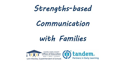 Strengths-based Communication with Families tickets