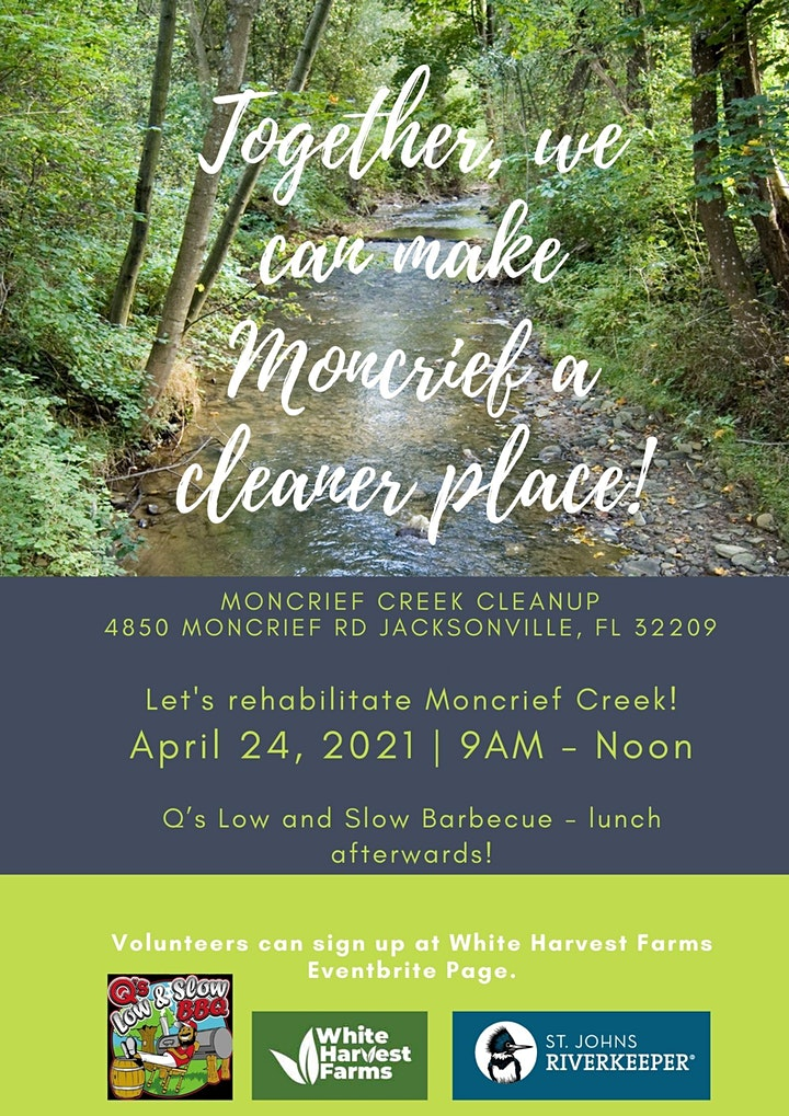 Moncrief Creek Clean up with St. Johns RiverKeeper image