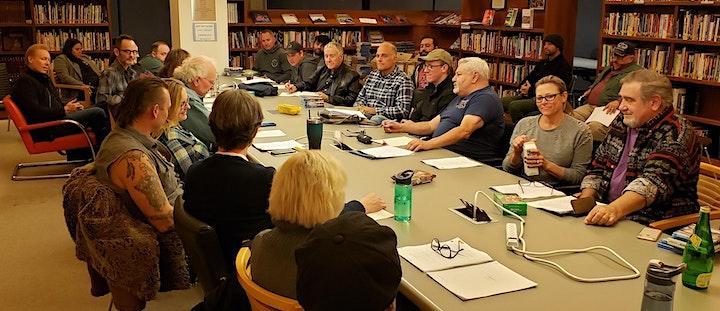 USVAA/ Onward Press present Tony Camerino and Sam Wolfson IN CONVERSATION image