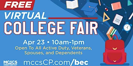 2021 Virtual College Fair tickets