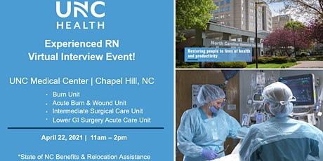 Experienced RN Virtual Interview Event - April 22 tickets