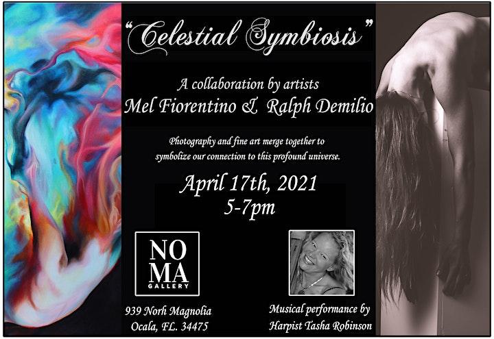 Celestial Symbiosis: Art collaboration of Mel Fiorentino & Ralph Demilio image