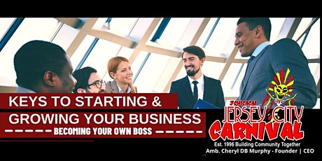 Keys to Starting & Growing Your Business tickets
