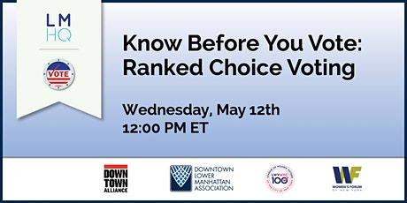 Know Before You Vote: Ranked Choice Voting tickets