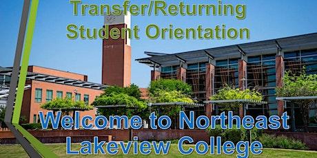 Transfer/Returning Student Orientation Virtual Session (Summer/Fall 2021) tickets