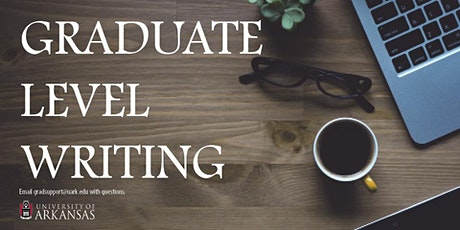 The Art of Revision: Writing Workshop Week for Graduate Students tickets