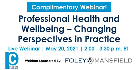 Professional Health and Wellbeing – Changing Perspectives in Practice tickets