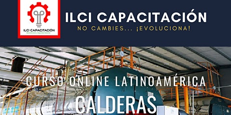 """Curso Gratuito Latino América """"Calderas"""" entradas"""