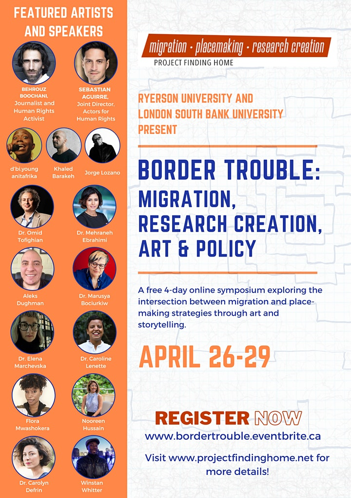 Border Trouble: Migration, Research Creation, Art & Policy image