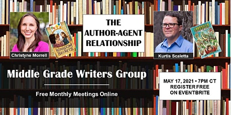 Middle Grade Writers Group: The Author-Agent Relationship tickets