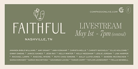 Faithful: A Livestream Event - GROUP ORDERS tickets