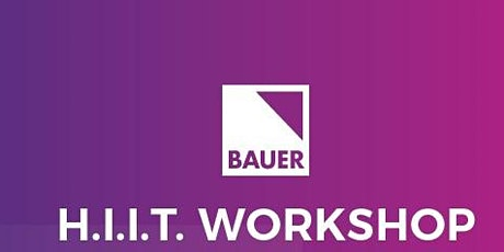 Instream - HiiT Workshop BAUER MEDIA EMPLOYEES ONLY tickets
