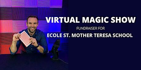 Andrew Kinakin - VIRTUAL MAGIC SHOW | ECOLE ST. MOTHER TERESA SCHOOL tickets
