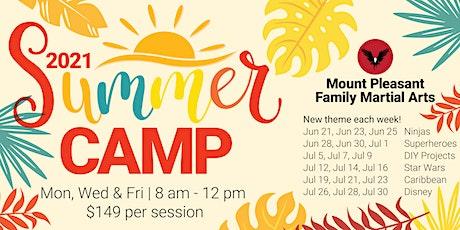 Summer Camp | Mon., Wed., & Fri. | 8am - 12pm tickets