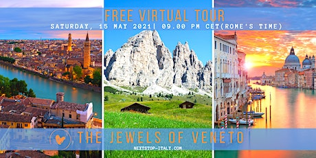 FREE VIRTUAL TOUR: The Jewels of VENETO- Best Day Trips From Venice tickets