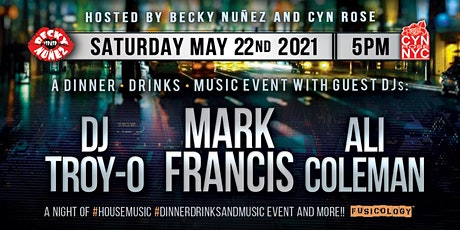 """BACK2HOUSEBEATS"" DINNER W/ MARK FRANCIS/ ALI COLE tickets"