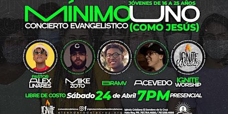 Ignite - Concierto Mínimo Uno - Como Jesús boletos