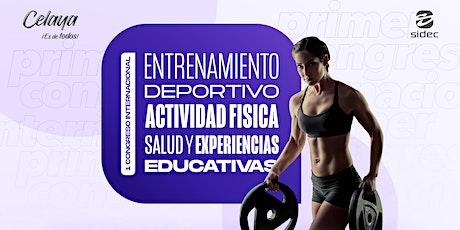 I Congreso Internacional en Entrenamiento Deportivo y Experiencias Educ. entradas