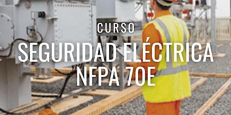 """Curso Gratuito Perú """"NFPA 70E"""" entradas"""