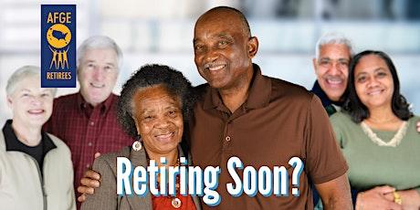 AFGE Retirement Workshop  - CA - 5/23/2021 -El Cajon, CA tickets
