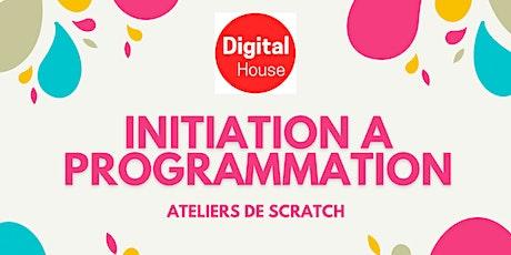 Codage  pour les debutants avec Scratch | ateliers virtuels de 5 semaines billets