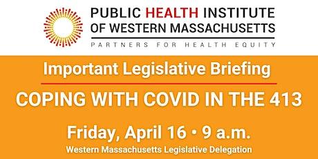 Public Health Institute  of Western MA Legislative Briefing tickets