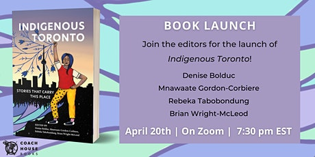 Indigenous Toronto Book Launch tickets