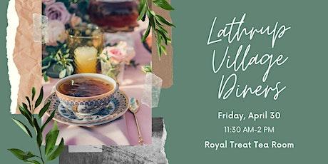 Lathrup Village Diners- April tickets