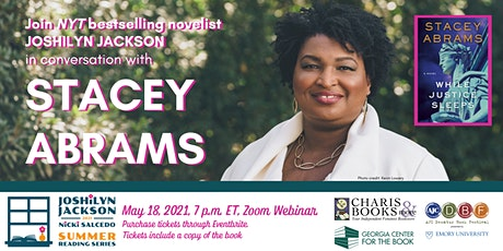 Stacey Abrams in Conversation with Joshilyn Jackson for When Justice Sleeps entradas