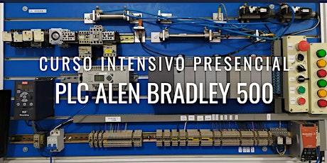 """CURSO INTENSIVO PRESENCIAL """"PLC ALEN BRADLEY 500"""" boletos"""