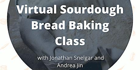 Virtual Sourdough Bread Baking Class tickets