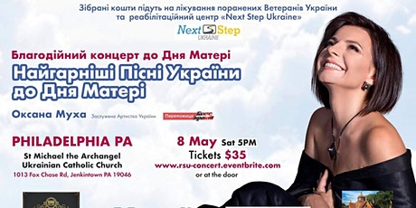 Philadelphia, PA - Oksana Mukha charity concert by Revived Soldiers Ukraine tickets