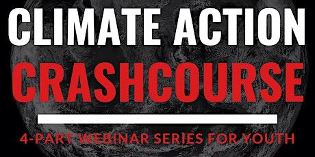 Climate Action Crash Course webinar tickets