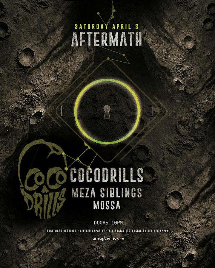 AFTERMATH: [Cocodrills / Meza Siblings /Mossa] SAT.APRIL.3 image