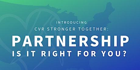 Partnership Series | Deciding on Partnership: Factors to Consider tickets